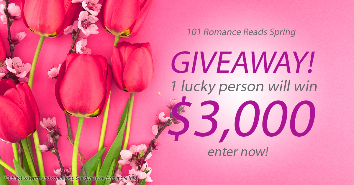 Big Romance Author $3,000 Sping Giveaway April 1-30th, 2016